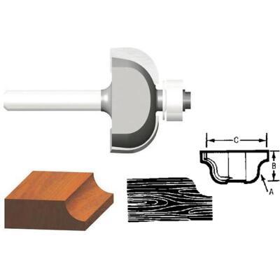 Vermont American Carbide Tip 1-1/2 In. Cove Bit