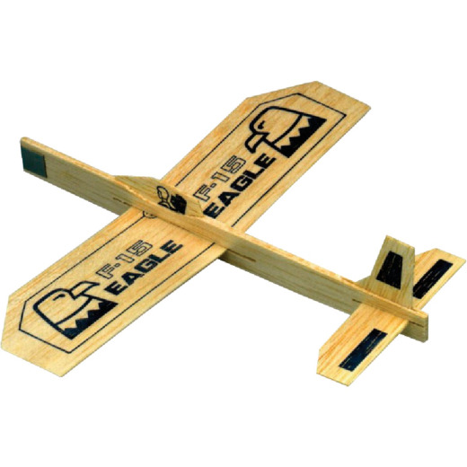 Paul K Guillow Eagle 9 In. Balsa Wood Glider Plane